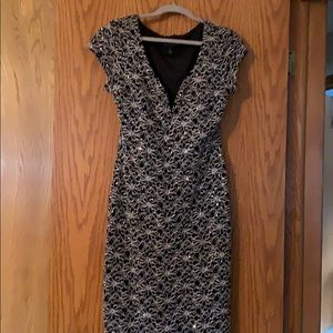Connected apparel dress size 8. Worn once.